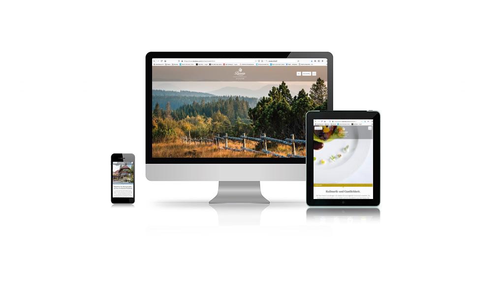 Webseite Hotel Bareiss im Schwarzwald