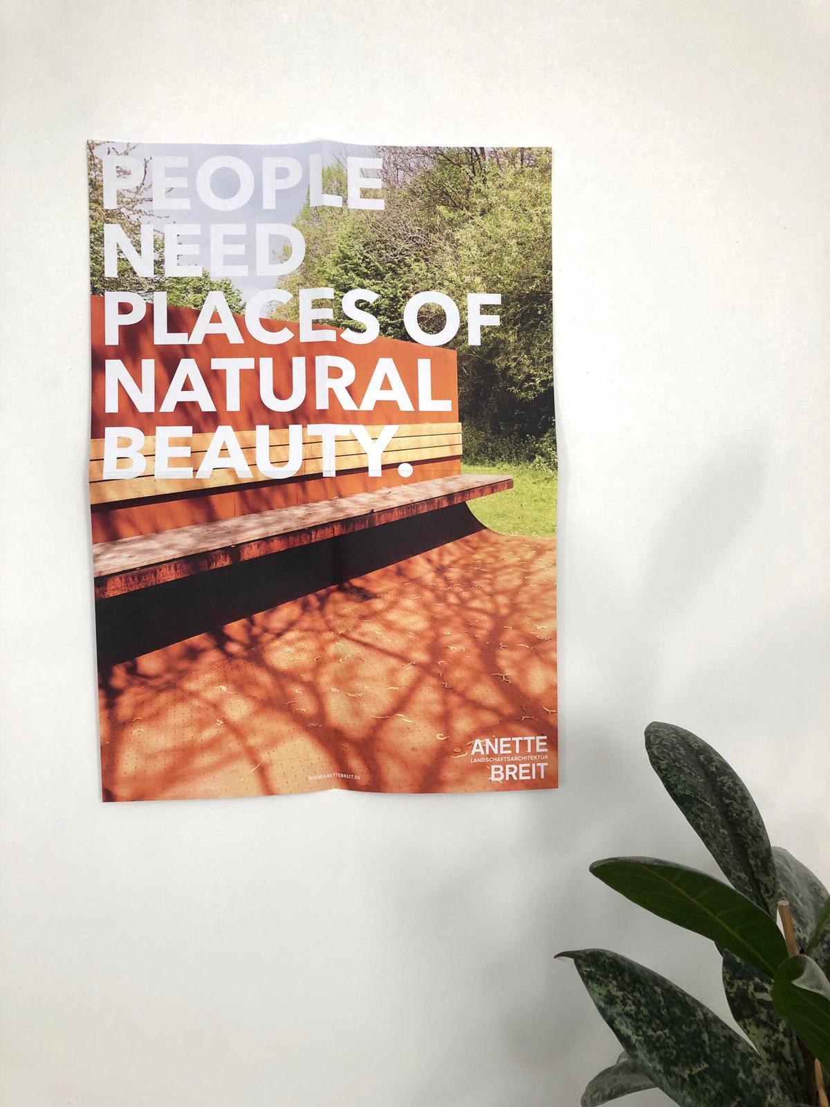 die basis_Plakat Anette Breit Landschaftsarchitektur